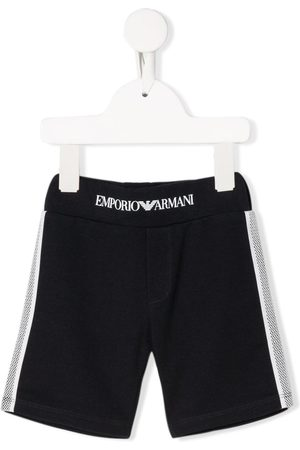 Emporio Armani Side stripe detail sweat shorts