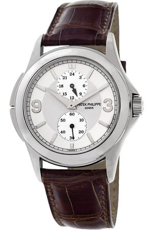 PATEK PHILIPPE 2006 pre-owned Travel Time, 37mm