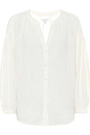 Velvet Bluse Monique aus Baumwolle
