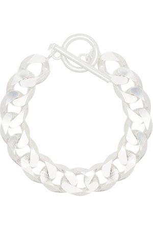 ALL BLUES Damen Armbänder - Kettenarmband aus Sterlingsilber - Metallisch
