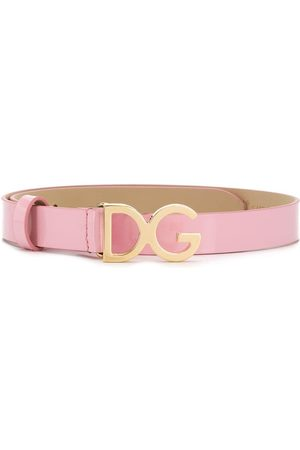 Dolce & Gabbana Mädchen Gürtel - Gürtel mit Logo