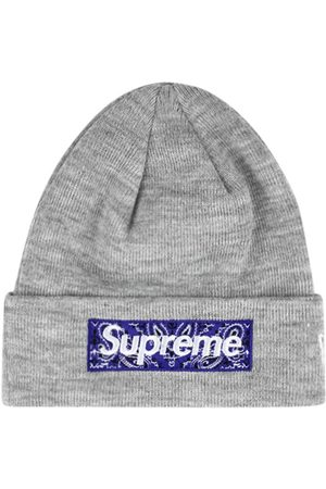 Supreme X New Era Beanie mit Logo