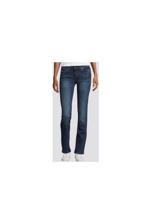 TOM TAILOR Alexa Straight Jeans, Damen, mid stone wash denim, Größe: 33/30