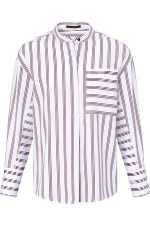 Windsor Bluse zum Schlupfen mehrfarbig