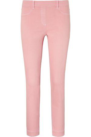Peter Hahn Damen Cropped - Knöchellange Schlupf-Jeans rosé