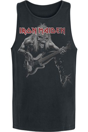 Iron Maiden Herren Shirts - Eddie Bass Tank-Top