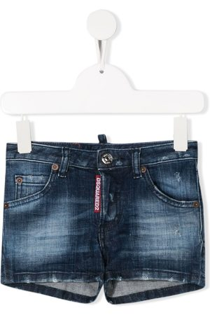 Dsquared2 Washed denim shorts