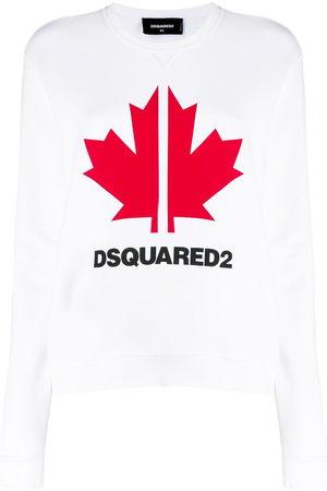 Dsquared2 Sweatshirt mit Ahornblatt
