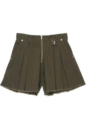 Diesel Cotton Gabardine Panta Skirt