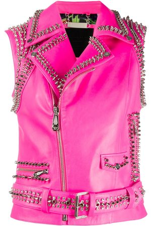 Philipp Plein Studded fitted vest