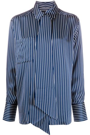 Rokh Roca striped-print shirt