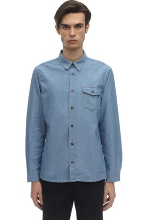 A.P.C Michel Cotton Chambray Shirt