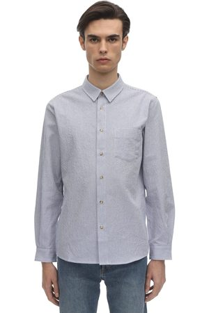 A.P.C 92 Pinstriped Cotton Shirt