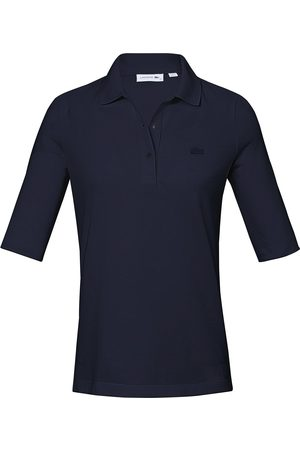 Lacoste Damen Longsleeves - Polo-Shirt langem 1/2-Arm
