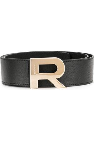 Rochas Gürtel mit Logo-Schnalle