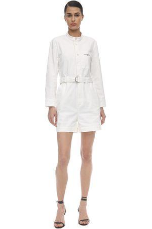 Stella McCartney Damen Jumpsuits - Distressed Cotton Romper