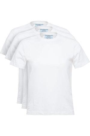 Prada Set aus drei T-Shirts