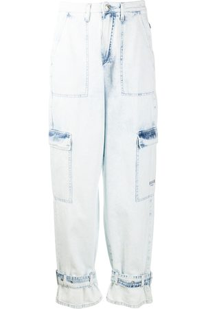 MSGM Jeans in Acid-Wash-Optik