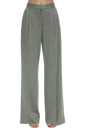 M Missoni Flared Lurex Jersey Pants