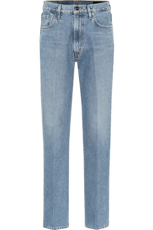 Goldsign High-Rise Straight Jeans Nineties
