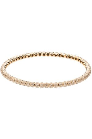 Shay 18k yellow gold diamond bracelet - METALLIC
