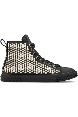 Giuseppe Zanotti High-Top-Sneakers mit Nieten