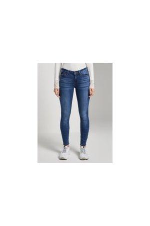 TOM TAILOR Damen Stretch - Jona Extra Skinny Jeans, Damen, Clean Mid Stone Blue Denim, Größe: 31/32