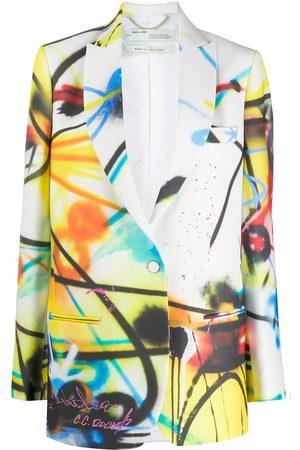 Off-White Futura tomboy jacket