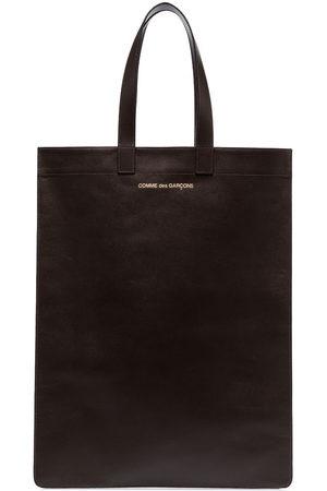Comme Des Garçons Wallet Shopper mit Logo-Print