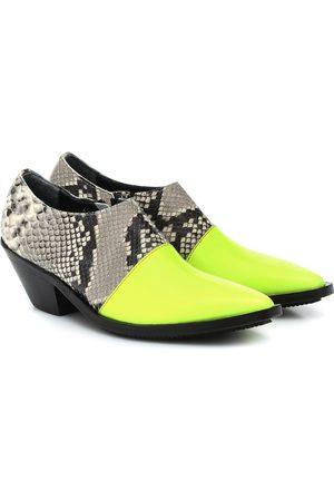 JUNYA WATANABE Ankle Boots aus Leder