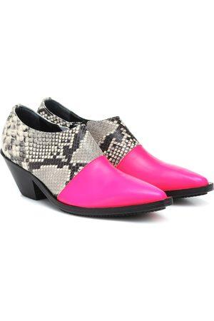 JUNYA WATANABE Damen Stiefeletten - Ankle Boots aus Leder