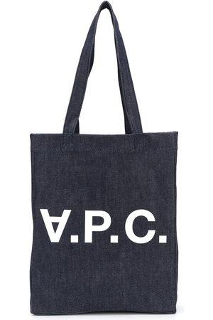 A.P.C Jeans-Shopper mit Logo