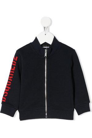 Dsquared2 Logo-print zip-through jacket