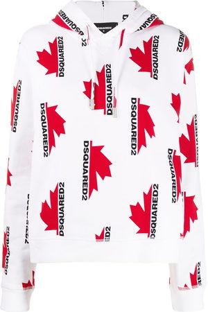 Dsquared2 Loose-fit logo-print hoodie