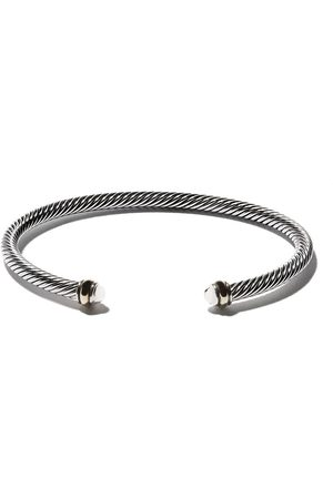 David Yurman Cable' Armspange aus Sterlingsilber - S8
