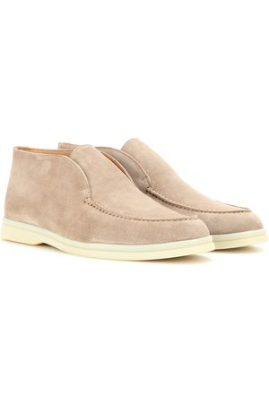 Loro Piana Ankle Boots Open Walk