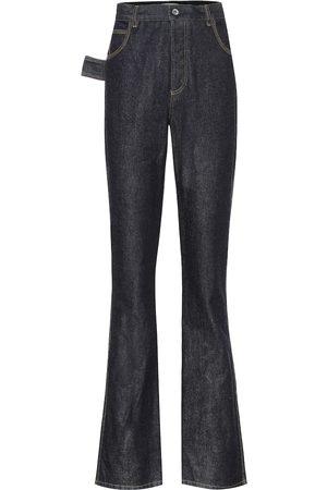 Bottega Veneta High-Rise Flared Jeans