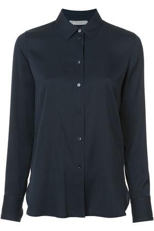 Vince Damen Blusen - Hemd mit klassischem Kragen