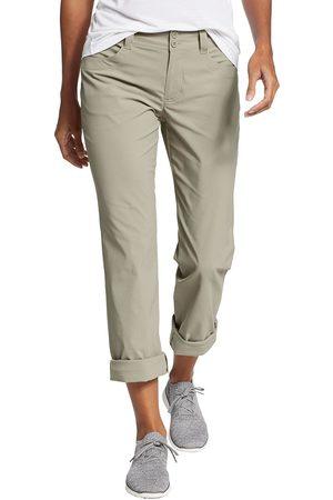 Eddie Bauer Damen Hosen & Jeans - Sightscape Horizon Convertible Hose Natur Gr. 4