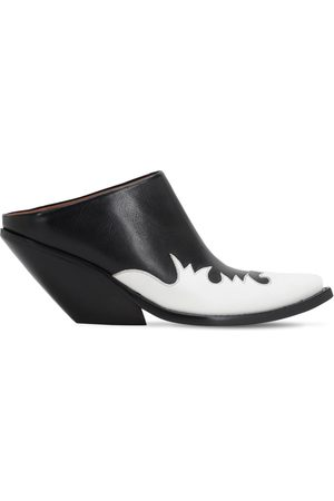 Vetements 70mm Kick-ass Leather Mules
