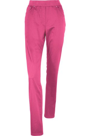 Brax Damen Stoffhosen - Comfort Plus-Schlupf-Hose Modell Carina pink