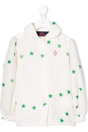 The Animals Observatory Star-print blouse - Nude