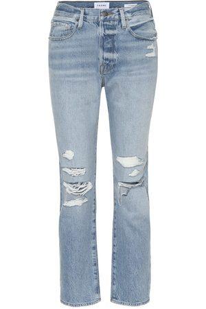 Frame High-Rise Jeans