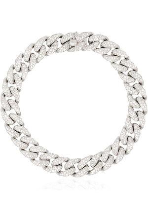 Shay 18kt Weißgoldarmband mit Diamanten - METALLIC
