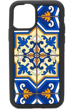Dolce & Gabbana Herren Handy - IPhone 11 Pro-Hülle mit Maiolica-Print