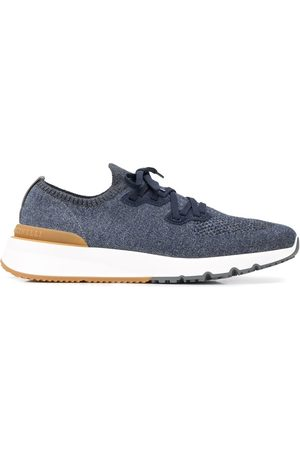 Brunello Cucinelli Sneakers aus Netzstrick