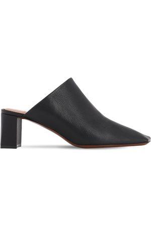 Vetements Damen Clogs & Pantoletten - 60mm Boomerang Leather Mules
