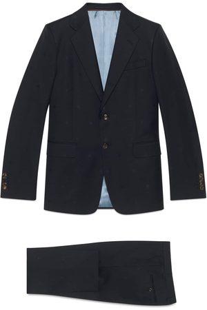Gucci Herren Anzüge - London Anzug aus Wollgabardine mit Bienen