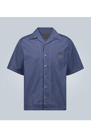Prada Poloshirt mit Kontrastnähten