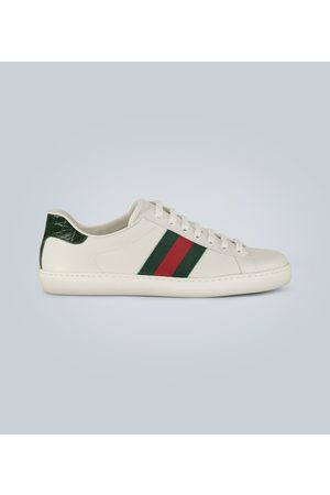 Gucci Ace Leder-Sneakers
